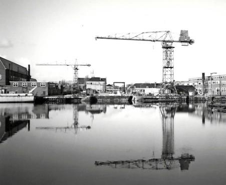 Stichting Erfgoed Kranen pleit voor terugkeer van torenkraan op Willemsoord, om 'skyline oude Rijkswerf deels te herstellen'