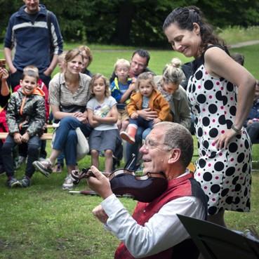 Lekker meedoen met Mozart tijdens Klaterklanken op landgoed Elswout