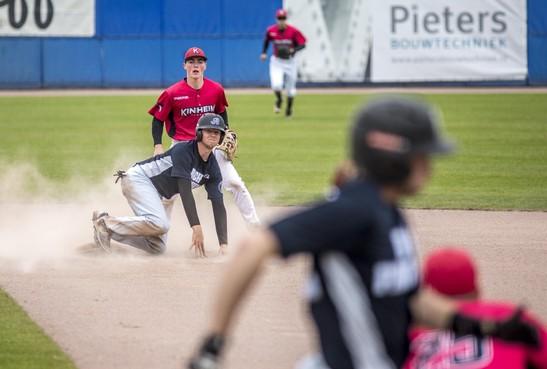 RCH-Pinguins en Kinheim delen punten en dromen van terugkeer naar hoofdklasse honkbal