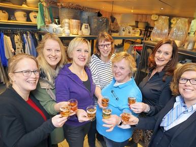 'Midlakeladies' willen winkeldorp Middenmeer laten bruisen