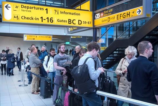Schiphol gepasseerd door Frankfurt