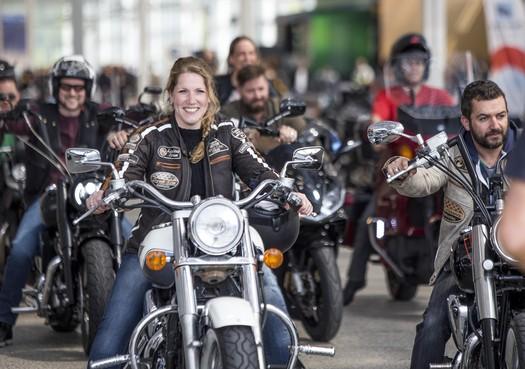 Mega Motortreffen in Vijfhuizen: 'Geen vervoersmiddel, maar een levensstijl'