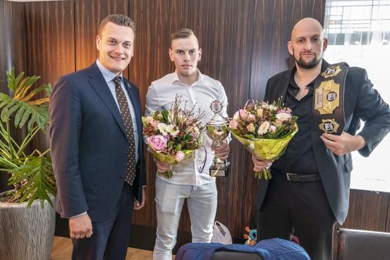 Katwijk eert Europees kampioenen karate
