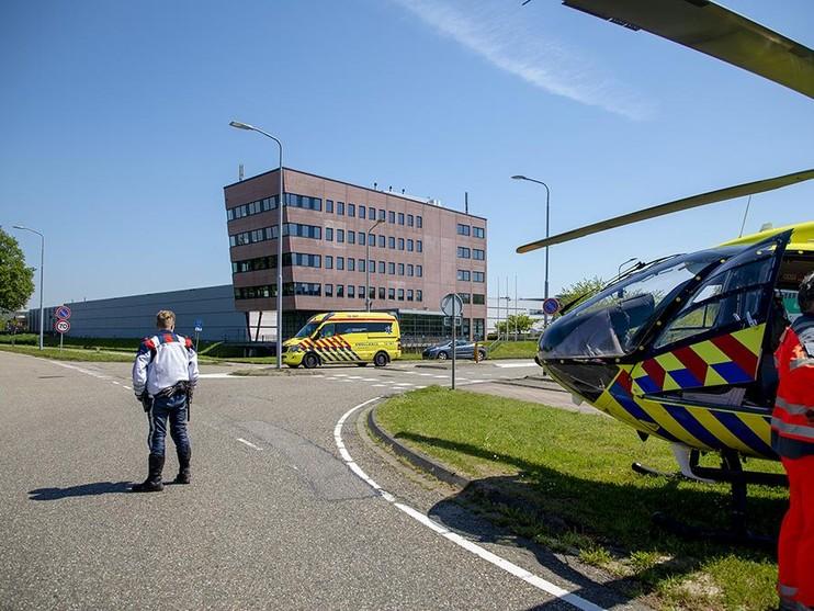 Man ernstig gewond bij bedrijfsongeval Schiphol-Rijk