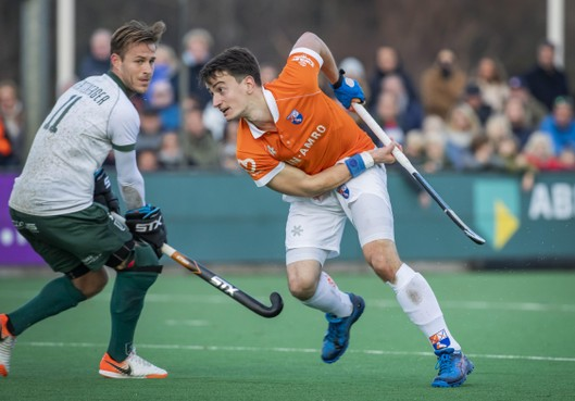 Bloemendaal wint van Oranje Rood en speelt met 1-1 gelijk tegen Rotterdam