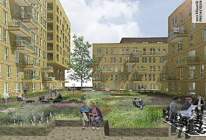Bouw seniorenwoningen aan Mahoniehout Zaandam van start - Noordhollands Dagblad
