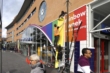 Station Hilversum krijgt make-over vanwege Rainbowweek