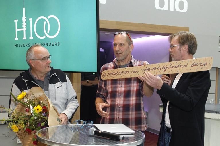 Busremiseplan 'Central Park' wint publieksprijs van duurzaamheids-wedstrijd Hilversum100 Challenge
