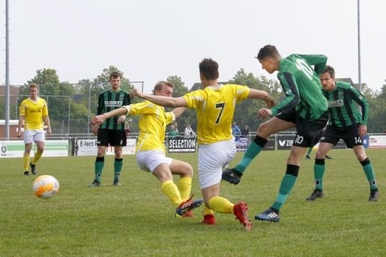 Danny Burger heeft met remise tegen Westfriezen laatste thuisduel afgerond voor Hollandia T