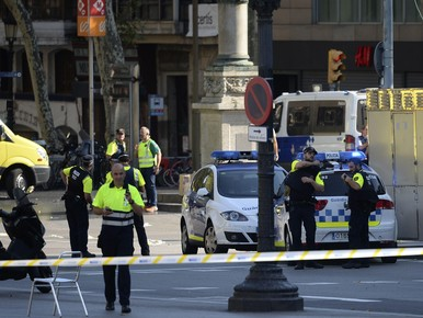 Doden en gewonden bij aanslag in Barcelona