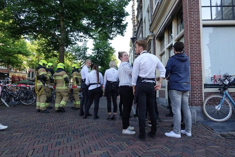 Restaurant in Alkmaar ontruimd wegens keukenbrand