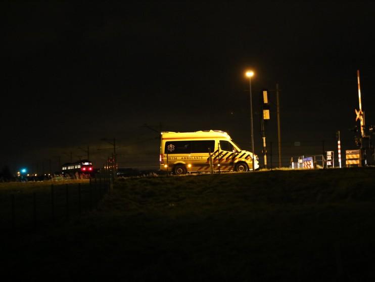 22-jarige Nieuwedieper overleden na botsing met trein