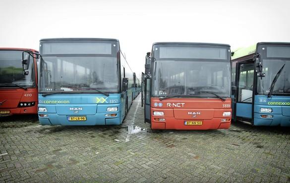 Staking bussen donderdag in regio Zaandam