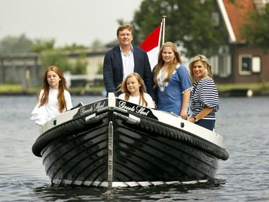Fotosessie koninklijke familie in Warmond [video-update]