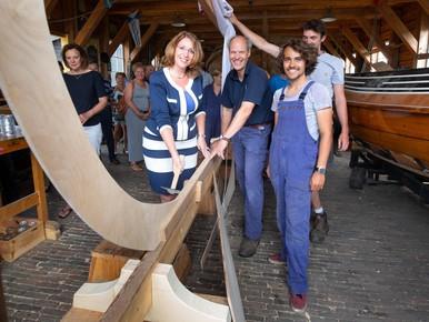 'Kiel gelegd' door burgemeester van Teylingen