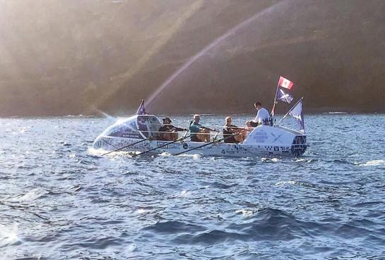 Haarlemse vrienden maken monstertocht; ook Ralph Tuijn uit Castricum roeit oceaan over [video]