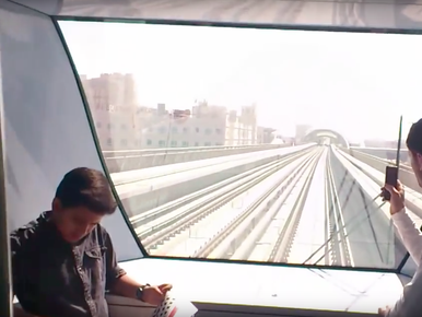 Zo gaat dat: trein zonder machinist [video's]