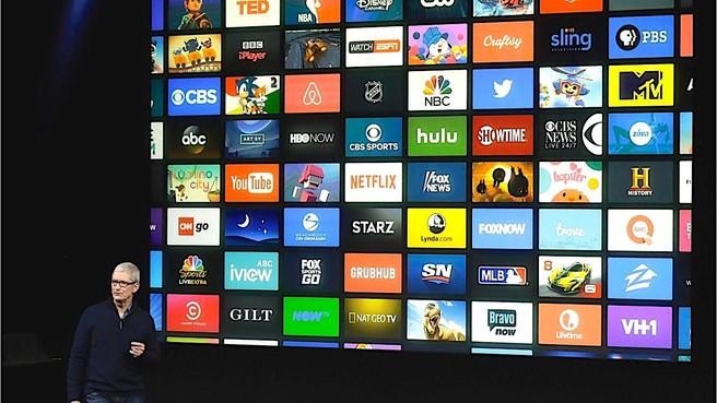 Alle kanten op met Apple TV-apps