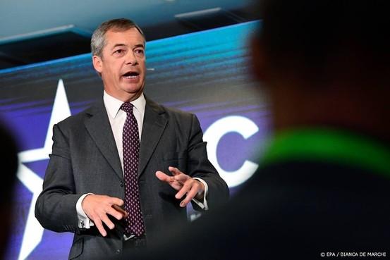 Farage voorspelt meer brexituitstel
