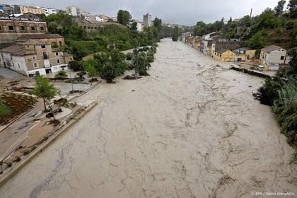 Doden door noodweer aan zuidoostkust Spanje