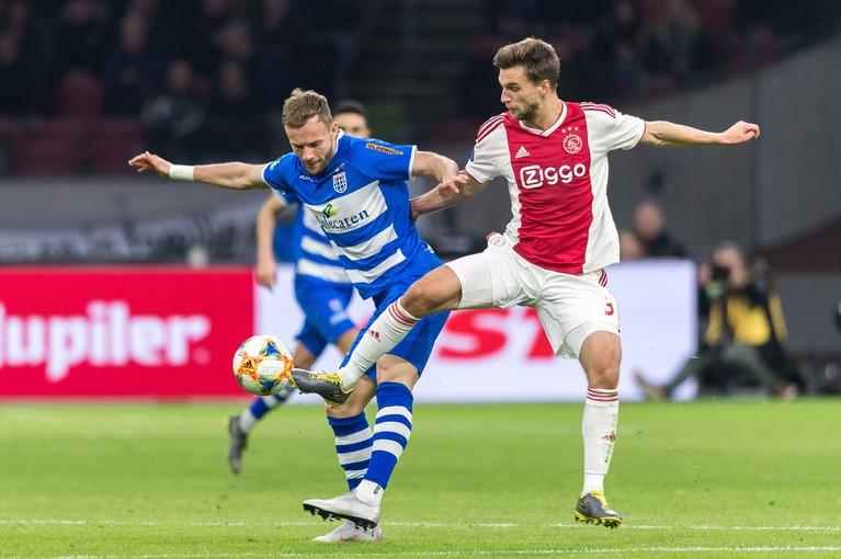 Veltman is klaar voor een basisplaats bij Ajax [video]