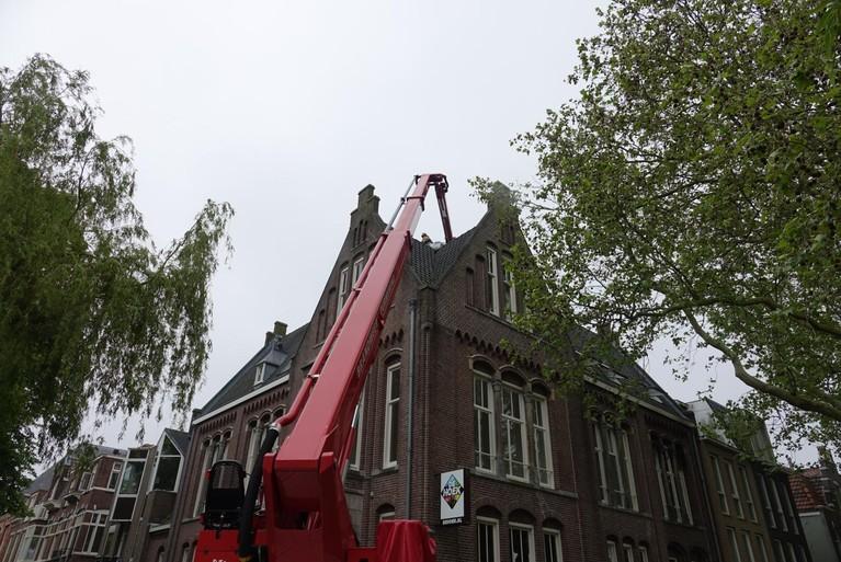 Veel schade door brand in pand Herengracht Purmerend