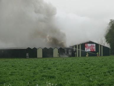 Avontuur huurt na brand pand Langedijk in Venhuizen