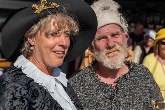 De tijd van Rembrandt herleeft komend weekend rond de Leidse Pieterskerk