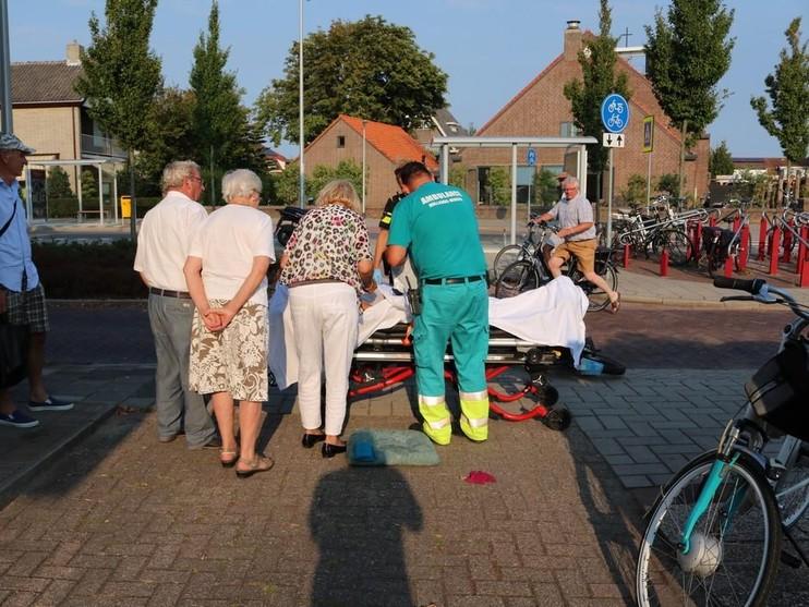 Brommerrijder ernstig gewond bij ongeval in Rijnsburg