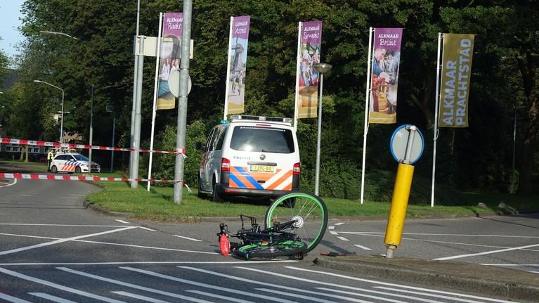 Fietser gewond bij aanrijding met auto in Alkmaar
