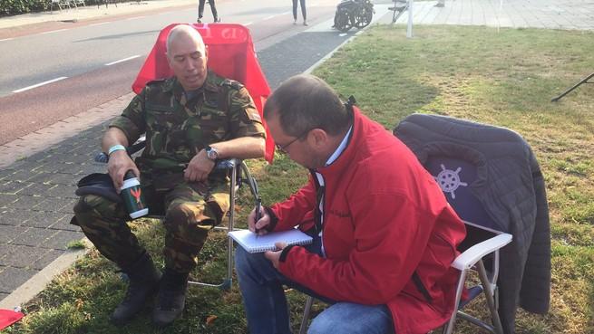 Leidsch Dagblad-verslaggevers bij de Vierdaagse van Nijmegen [live]