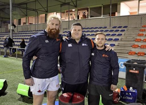 Alleen winst op Portugal telt voor rugbyinternationals Mark Wokke en Tony Hoogendoorn van Cas RC