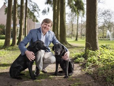 Media krijgen laatste blik op koninklijk landgoed Eikenhorst in Wassenaar