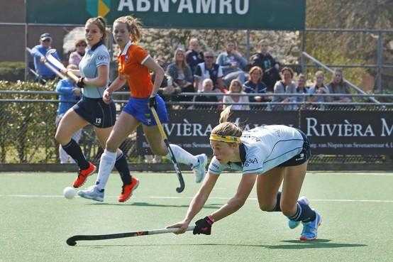 Vrouwen van Laren hopen volgend seizoen op meer na nederlaag tegen Oranje-Rood