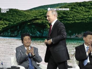 Poetin biedt Japan vredesverdrag aan