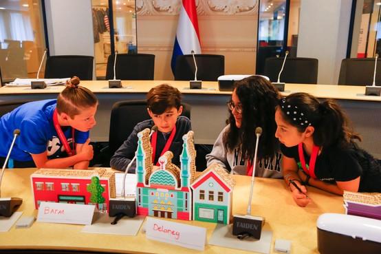 Kinderen mogen stad bouwen als 'democratisch spel'