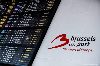 Luchthaven Brussel plat door staking
