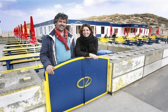 Aanvraag Zeespiegel voor vast strandpaviljoen in Noordwijk