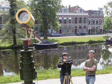 Vincent Icke: 'Aan deze kijker zie je goed hoe Huygens was'