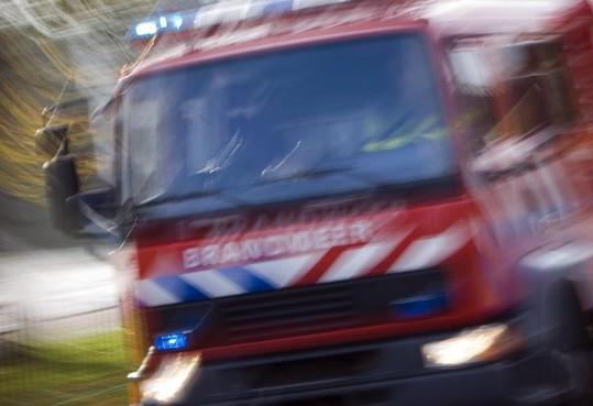 Vertraging op A4 bij Hoogmade door autobrand