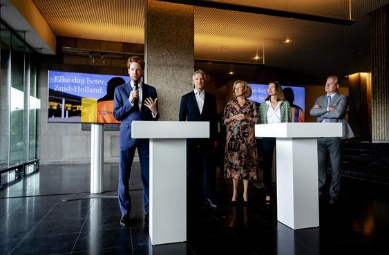 Coalitieakkoord Zuid-Holland: meer treinen tussen Leiden en Utrecht, de windmolen is uit