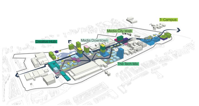 Plan voor grote torenflats op plek Studio 21