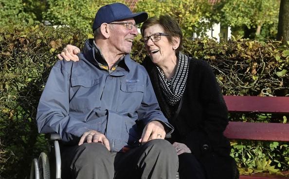 Riet Reus uit Grootebroek zorgt voor haar man Jan: 'Het is en blijft een lieverd'