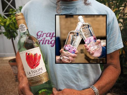 Katwijkse tulpenbollenwodka lijkt niet op La Tulipe-wijn Ilja Gort