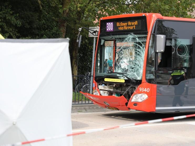 Fietser overleden bij ongeval met lijnbus in Hoofddorp