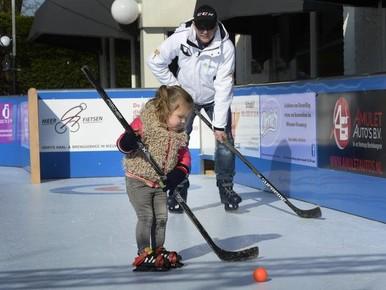 In februari weer schaatsbaantje in Nieuw-Vennep