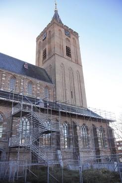 Toren Grote Kerk Naarden krijgt ook opknapbeurt