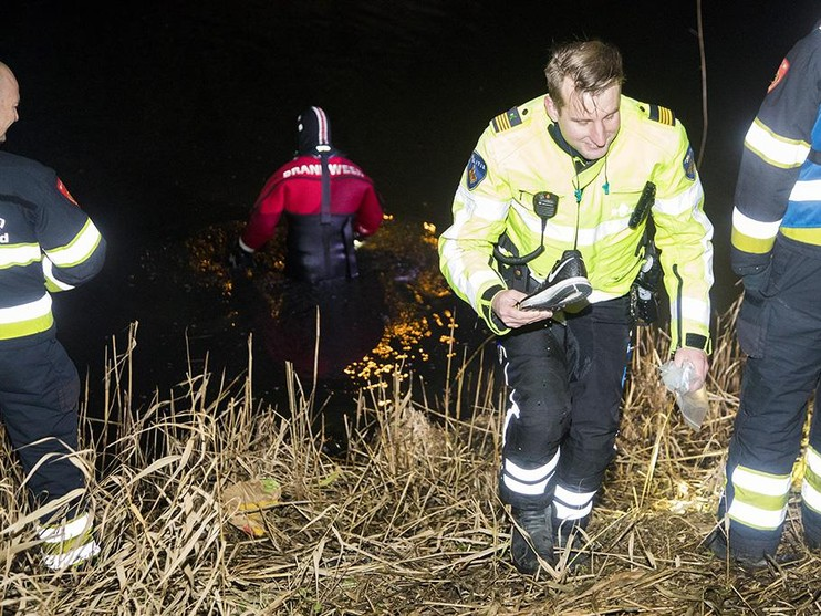 Inbreker opgepakt, zoektocht naar gedumpte buit in Vijfhuizen
