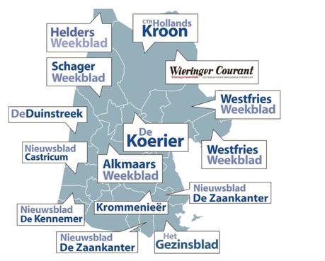 Einde dreigt voor Noord-Hollandse huis-aan-huisbladen