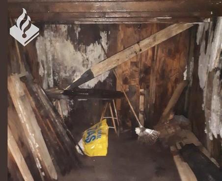 Boswachter stuit op geheime ondergrondse ruimte in Noordwijk